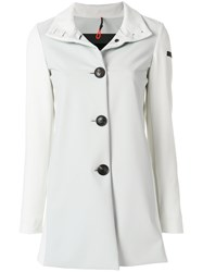 Rrd Single Breasted Coat White