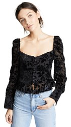 Lioness Sweethearts Top Black