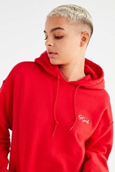 Urban Outfitters Uo Kyoto Embroidered Hoodie Sweatshirt