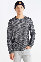 Koto Double Layer Crew Neck Sweatshirt Black