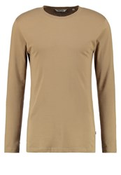 Only And Sons Onspetar Long Sleeved Top Lead Gray Sand