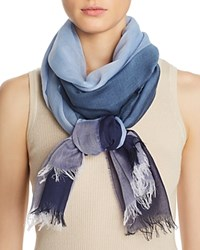 Aqua Liberty Scarf 100 Exclusive Blue