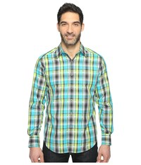 Robert Graham Hiran Shirt Lime Men's Clothing Green