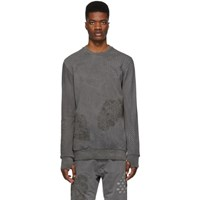 11 By Boris Bidjan Saberi Black Bamba Sweatshirt