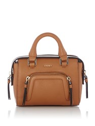 Dkny Chelsea Vintage Mini Satchel Bag Tan