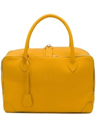 Golden Goose Deluxe Brand Large Equipage Tote Yellow