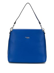 Trussardi Jeans Berry Tote Bag Blue