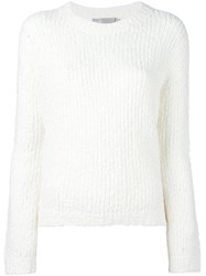 Vince Chunky Knit Jumper White