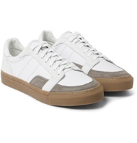 Our Legacy Leather And Suede Sneakers