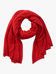 Betty Barclay Fine Knit Scarf Red Pepper