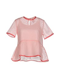 Dress Gallery Shirts Blouses Women Pink