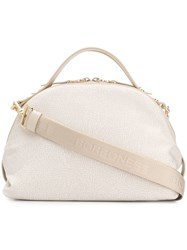 Borbonese Sexy Top Handle Bag Neutrals