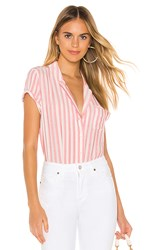 Paige Colwyn Shirt In Red. Watermelon