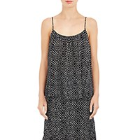 L'agence Women's Georgette Baily Tank Black Ivory No Color Black Ivory No Color