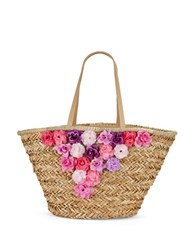 Franchi Large Open Tote Natural