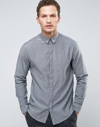 Selected Homme Longsleeve Slim Shirt Frost Grey