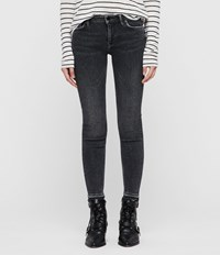 Allsaints Mast Ankle Ty Jeans Washed Black