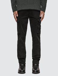 Stone Island Slim Fit Cargo Pants Black