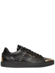 John Richmond Studded Leather Sneakers