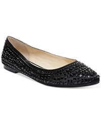 Betsey Johnson Coco Evening Flats Women's Shoes Black