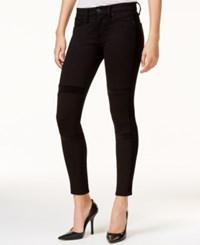 Hudson Jeans Velvet Detail Black Wash Super Skinny