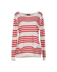 Max And Co. Sweaters Red
