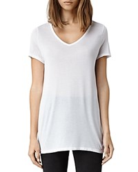 Allsaints Malin V Neck Tee Optic