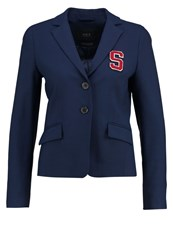 Set Blazer Dress Blue Dark Blue