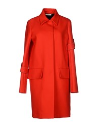 Celine Celine Coats And Jackets Full Length Jackets Women Red
