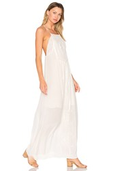 Candc California Odysseia Strappy Maxi Dress White