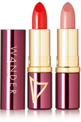 Wander Beauty Wanderout Dual Lipstick Gno Date Night Red Neutral