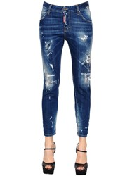 Dsquared Cool Girl Stretch Destroyed Denim Jeans