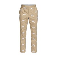 Thom Browne Dolphin Chino Trousers Camel