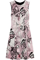 Jonathan Saunders Sybil Printed Stretch Crepe Dress Pink