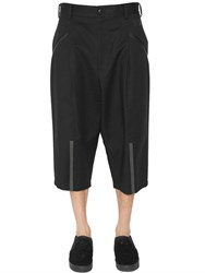 Y 3 Cotton Canvas Shorts