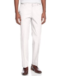 Inc International Concepts I.N.C. Men's Stretch Slim Fit Pants Created For Macy's White