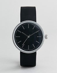 Burton Menswear Watch With Dark Dial In Black