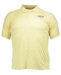 Colosseum Men's Georgia Tech Yellow Jackets Pitch Polo Old Gold