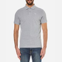 Barbour Men's Sports Polo Shirt Grey Marl