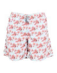 Macchia J Swim Trunks Sky Blue