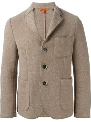 Barena Three Button Jacket Nude And Neutrals