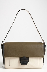 Reed Krakoff 'Standard' Leather Shoulder Bag Surplus Multicolor