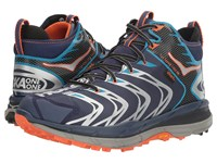 Hoka One One Tor Speed 2 Mid Medieval Blue Red Orange Men's Shoes