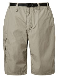 Craghoppers Men's Kiwi Long Shorts White
