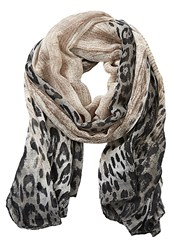 Betty Barclay Animal Print Scarf Beige