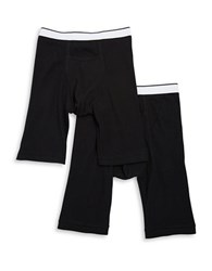 Jockey Two Pack Classic Pouch Midway Boxer Briefs Black