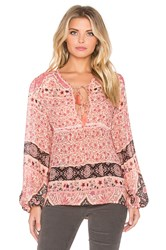 Spell And The Gypsy Collective Aloha Fox Blouse Pink