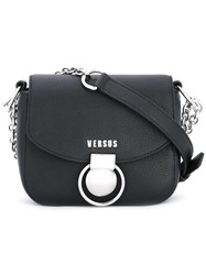 Versus Chain Strap Crossbody Bag Black