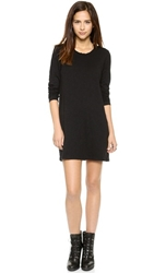 Wilt Pleat Back Longsleeve Dress Black