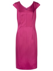 Planet Peony Occasion Dress Mid Pink